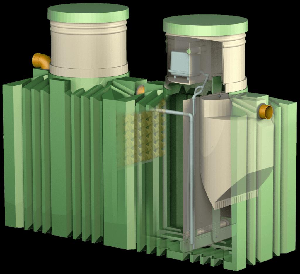 Септик Биотанк с компрессором